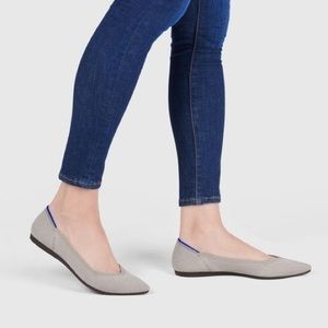 Rothys The Point Flat Flax Birdseed Taupe Flat